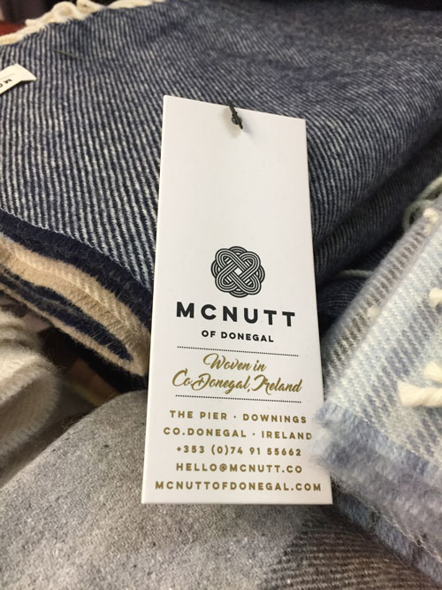 Mcnutt of Donegal Irish scarves