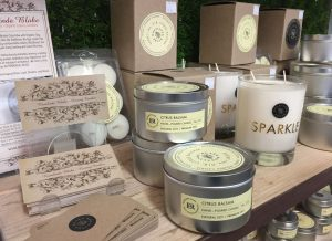 Rosalinde Blake natural soy candles