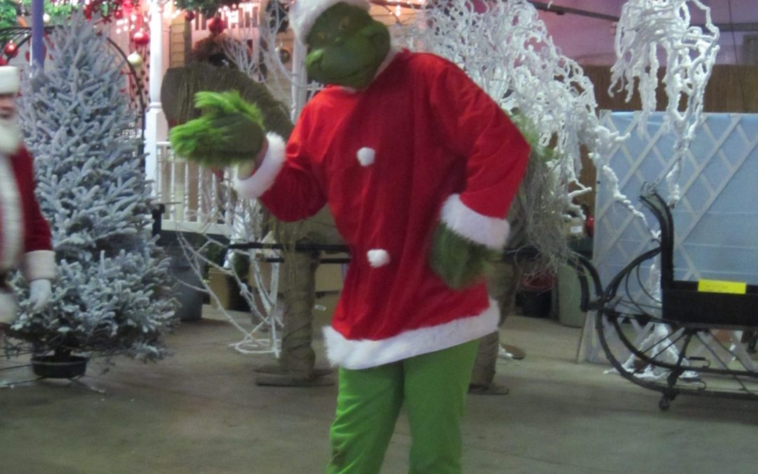 Mr. Grinch Makes Merry
