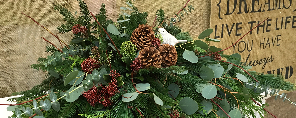 Holiday Greens and Trees Timeline