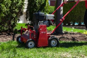 aeration machine for lawn minter